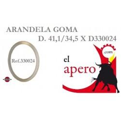 ARANDELA GOMA D41,1/34,5 XD